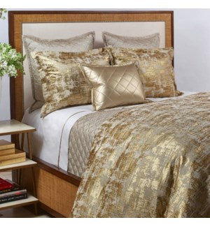 Scratch Gold Duvet Cover Set