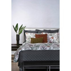 Botanical Crinkle Duvet Cover Set
