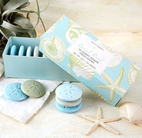 Coral Reef Guest Soap Set