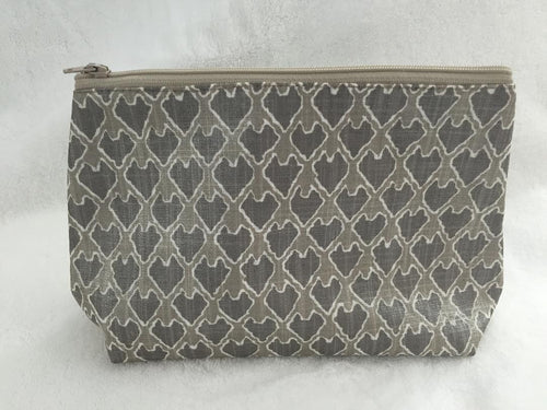 Sprout Grey Cosmetic Bag