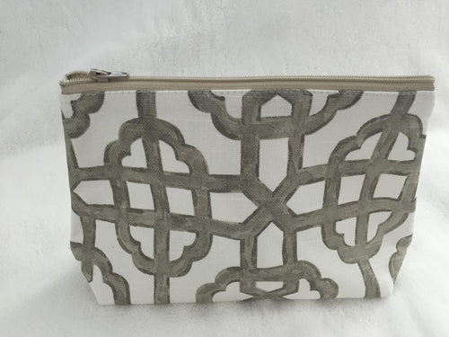 Gate Grey Cosmetic Bag