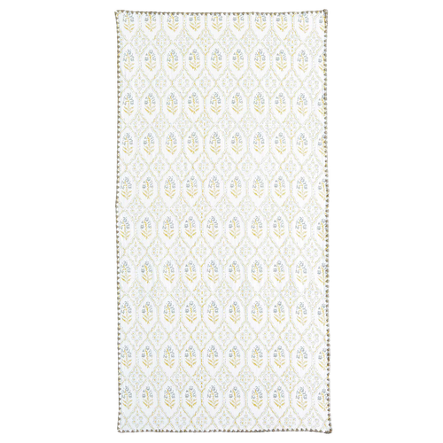 Sahasa Ochre/Grey Bath Towel