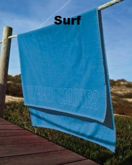 Plush Velour Beach Towel