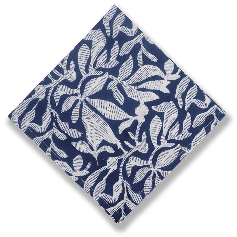 Calypso Indigo Napkins/Set of 6