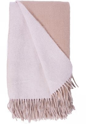 Double Faced Wool /Cashmere Throws