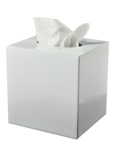 Essentials White Tissue Cover