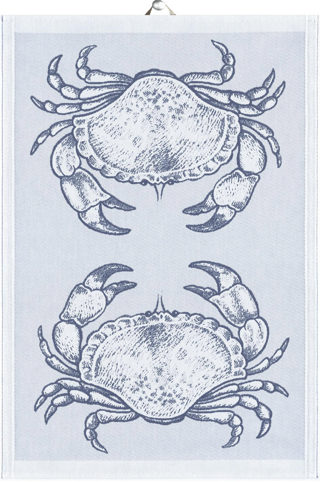 Organic Cotton Crab Kitchen Towel