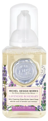 Lavender Rosemary Mini Foaming Hand Soap