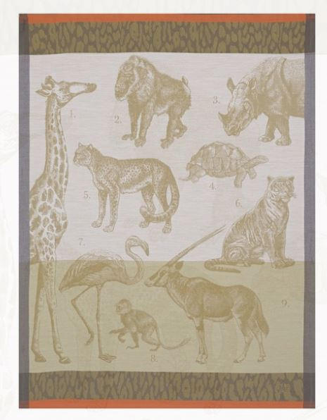 Safari Kitchen Towel