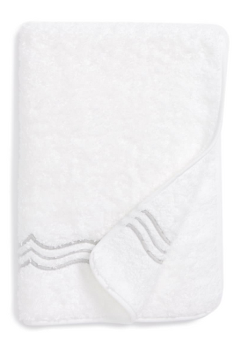 Paola Guest Towel Silver