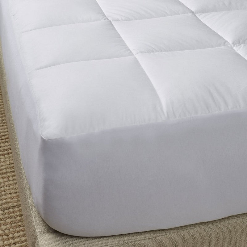Bergen Down Free Mattress Pad from Scandia
