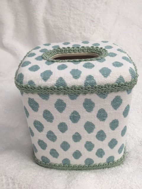 Midnight Aqua Tissue Cover