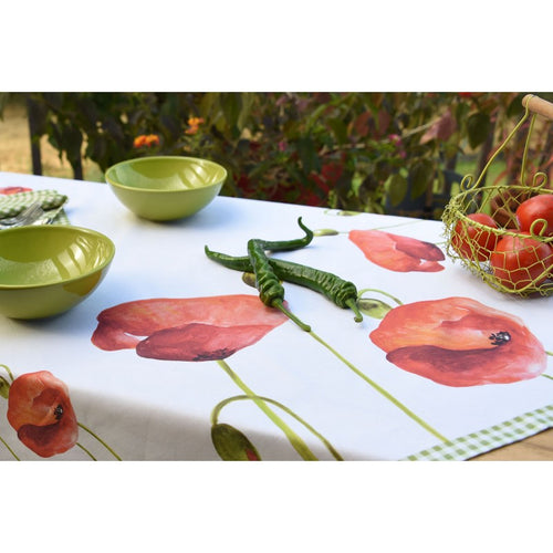 Poppy Tablecloth