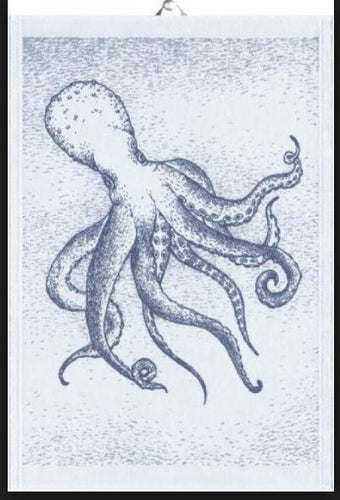 Organic Cotton Octopus Kitchen Towel
