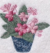 Pink Cache Pot Linen Tissue Cover
