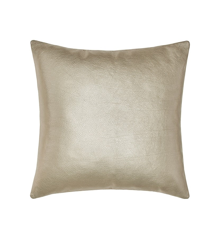 Satta Italian Leather Decorative Pillow Bonsoir Linens Cool Italian Decorative Pillows