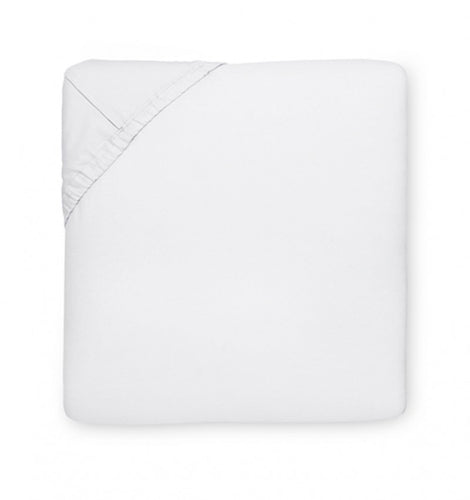 Lia White Fitted Sheet