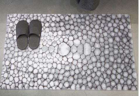 Shagreen Bath Rugs