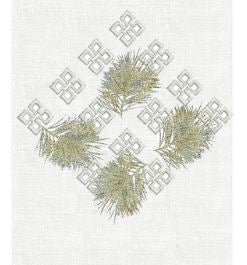 Sprigs Guest Towel