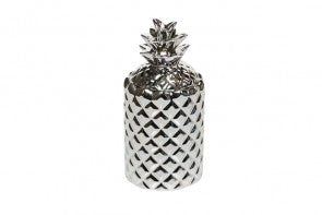 White Tea & Mint Silver Pineapple Candle -60% OFF