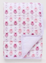 Baby Woolies Quilt Berry