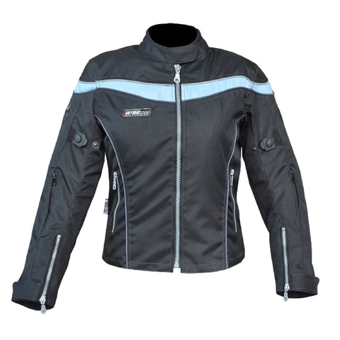 Textile Motorcycle Womens Jacket, Women Motorcycle Jacket,