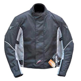 Street Motorcycle Biker Jacket with CE Armord. Breathable Mesh lining