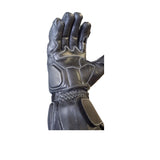 Biker Racing Leather Gloves