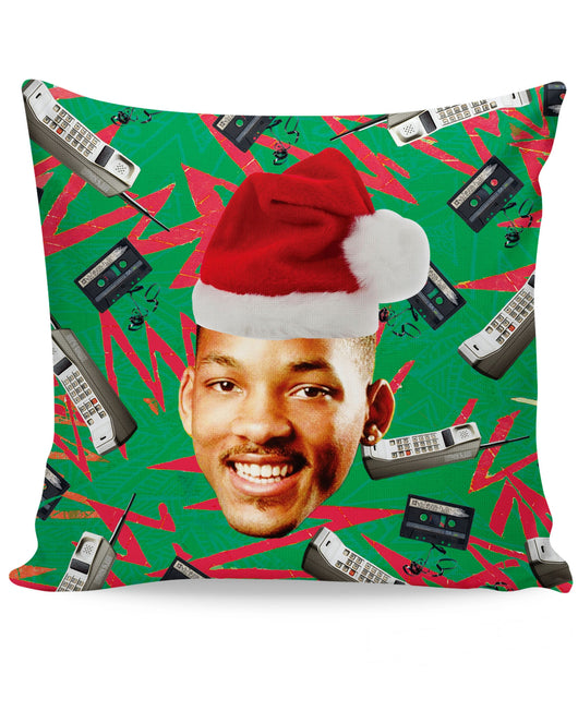 Fresh Prince Christmas Couch Pillow