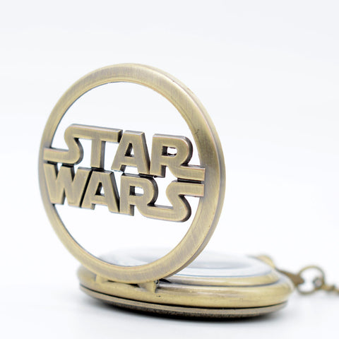 Star Wars Pocket Watch Necklace