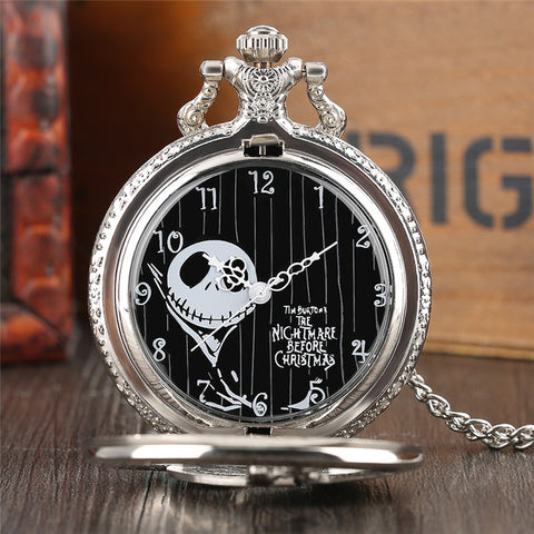 The Nightmare Before Christmas Pocket Watch Necklace