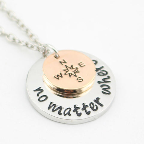 No matter Where Necklace