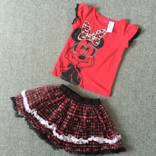 MINNIE 2PC SKIRT SET