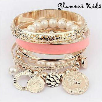 HOLLOW STACK UP BANGLES