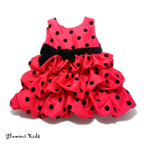 DRESS ~ LARGE POLKA PARTY