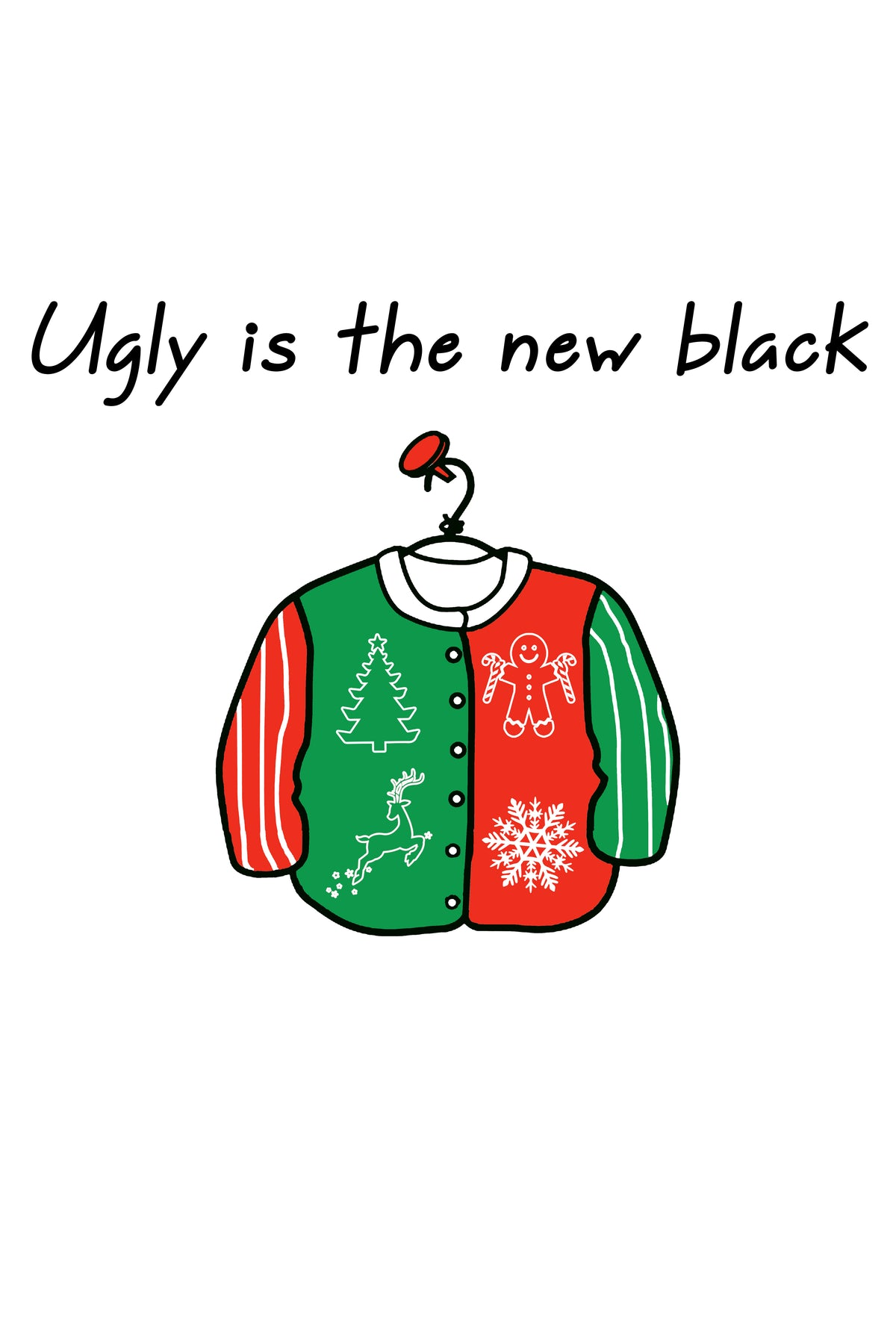 Ugly is the New Black Unisex Tee
