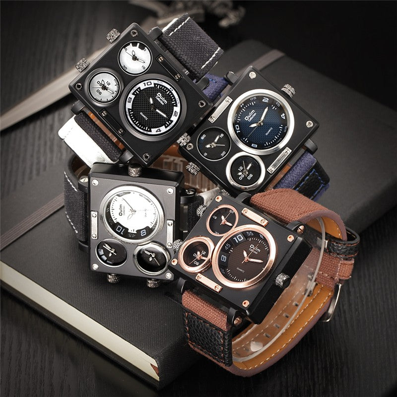 0614b2e31aa Large Multiple Time Zone Watch  CYBER MONDAY DEAL BOGO FREE! MUST ADD 2  WATCHES