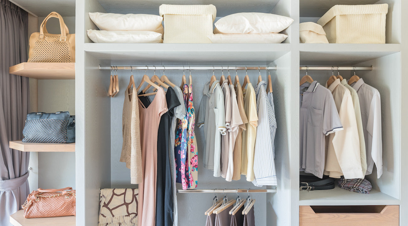 3 Tools You Need to Make Your Closet Look Clean