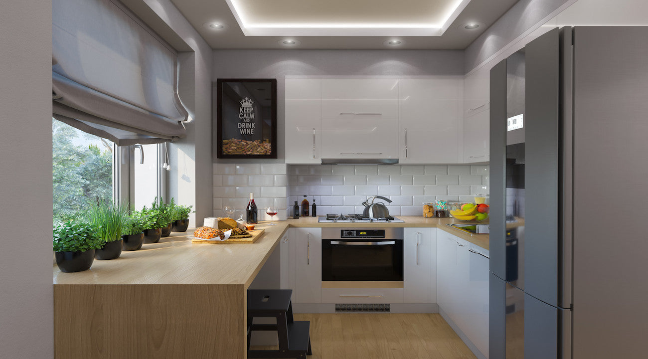 Make Your Small Kitchen Feel Big