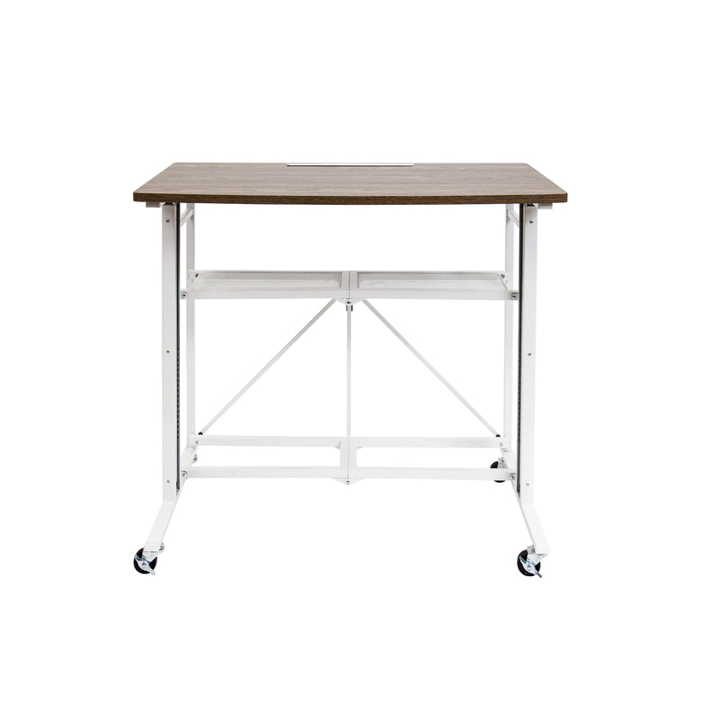 Adjustable Height Sit to Stand Laptop Computer Desk