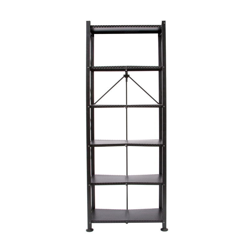 RB-OTM Series: 6-Tier Classic Stamped Bookcase
