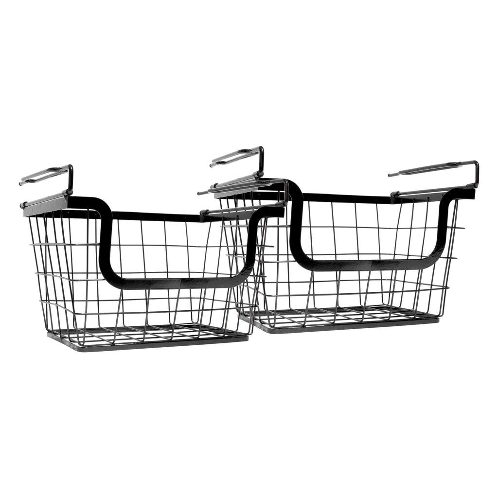 Metal Baskets for Storage Racks  (Two Pack)