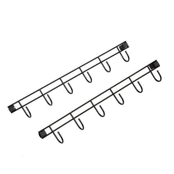 Hook Bars for 5-Drawer Storage Cart (Two Pack)