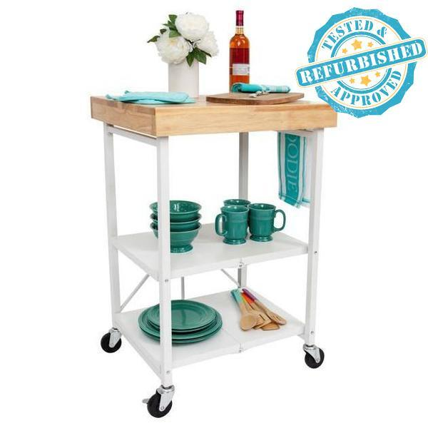 Refurbished - T - 3-Shelf Kitchen Cart [Refurbished]