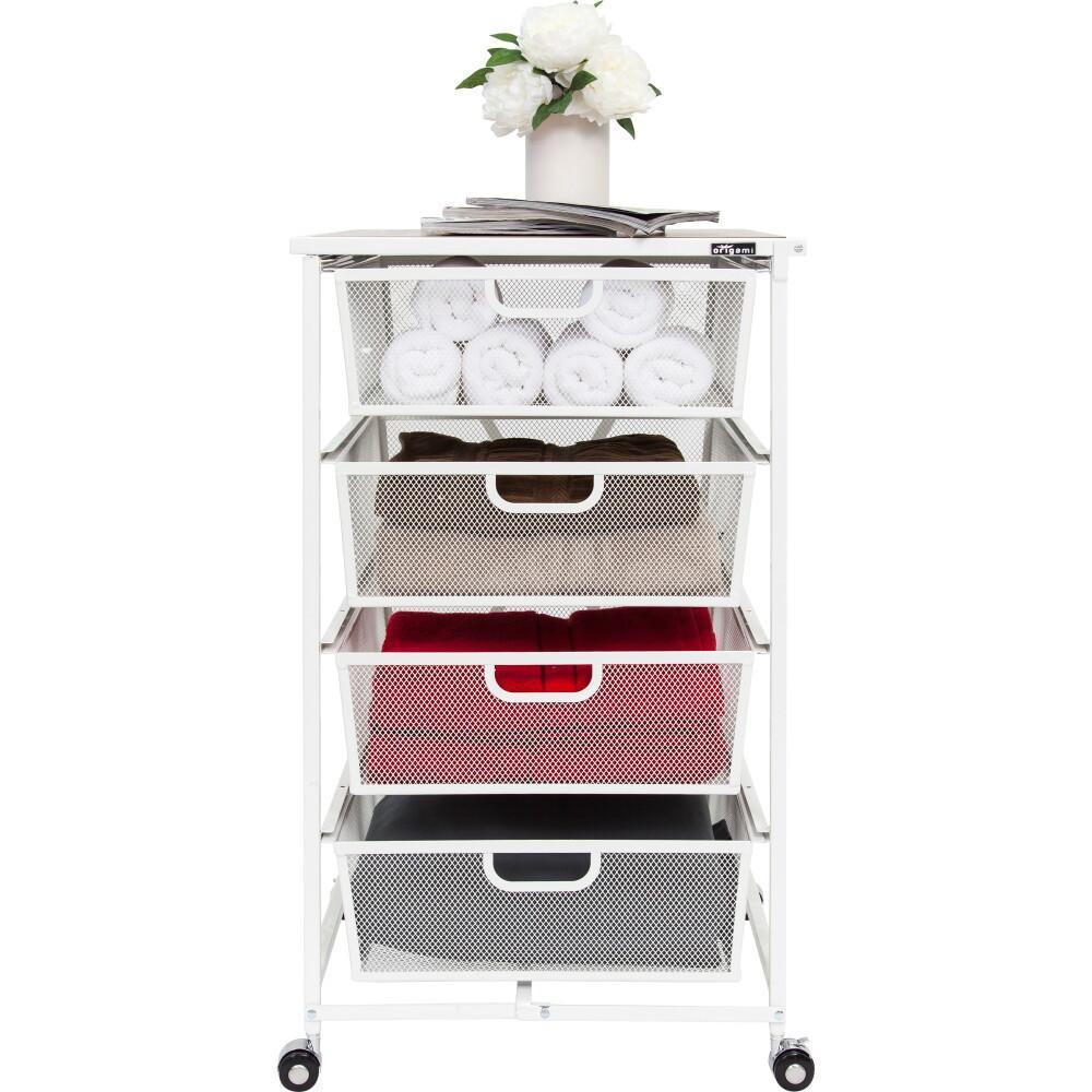 Refurbished - T 4-Drawer Storage Cart [Refurbished]