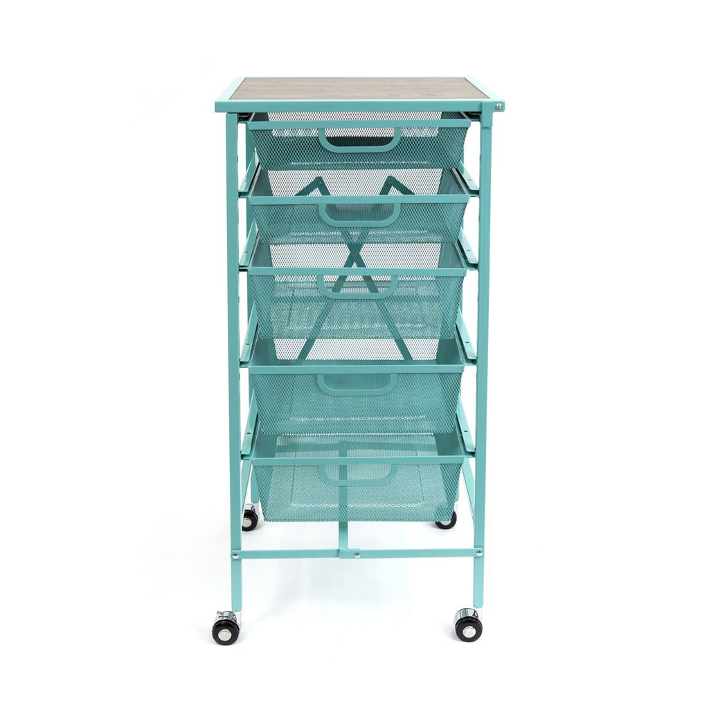 Refurbished - T - RDFS-05 5-Drawer Storage Cart [Refurbished]