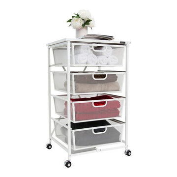 Storage Solutions - 4-Drawer Storage Cart