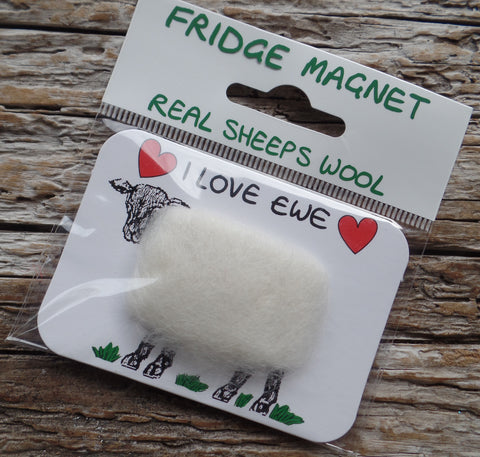 Woolly Fridge Magnets