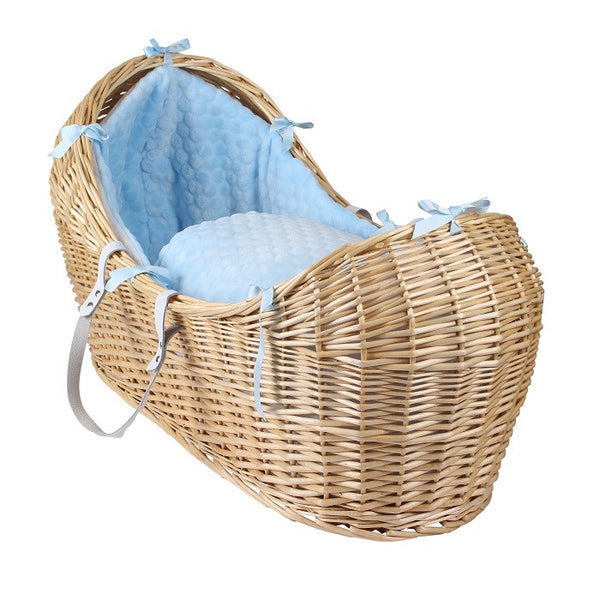 Clair de Lune Noah Pod Natural Wicker - Delivery in 2 Weeks