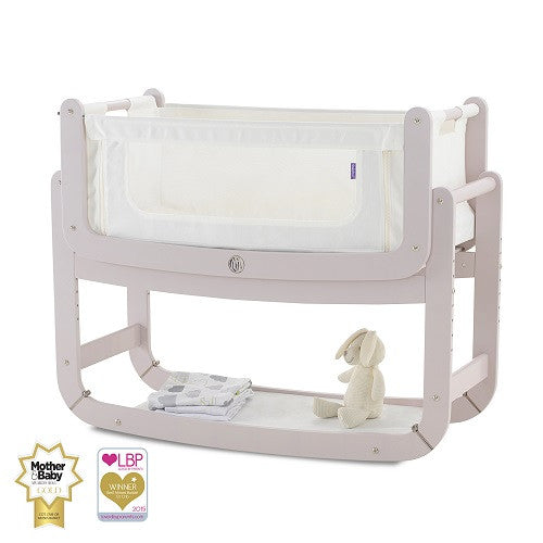 SnuzPod 2 Bedside Crib 3 in 1 and Mattress